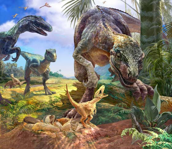 a study of dinosaur eggs and nesting Ancient eggshells reveal dinosaur nesting are helping researchers figure out what kinds of nests dinosaurs created for their eggs, according to a new study.